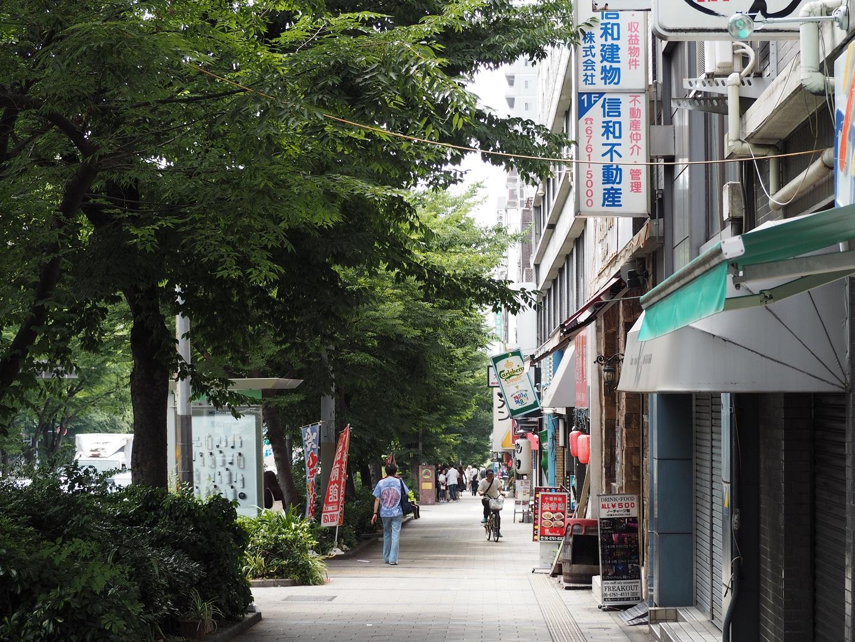 タスクマン合同法務事務所_アクセス_谷町九丁目から坂を下る