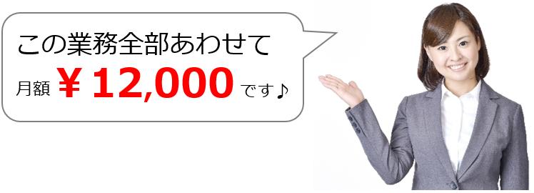 処遇改善加算(介護・障害福祉事業)全部合わせて12,000円